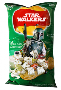 photos Les chips de Starwars