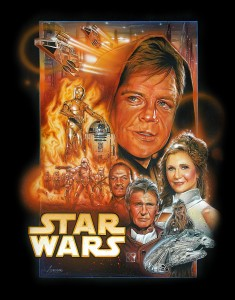 photos 1ere affiche de Starwars VII