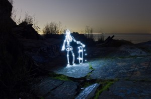 photos Light Goes On, le light painting au plus haut