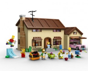 photos Les Simpsons en Lego