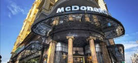 McDonald's-on-Spanish-Broadway-Gran-Via-in-Madrid-Spain