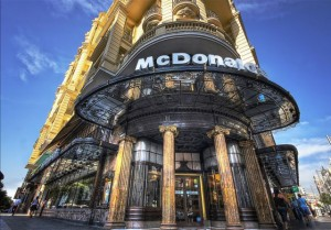 photos Les plus beaux restaurants Mac Donald's