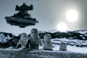 photos Scènes de Starwars en Lego