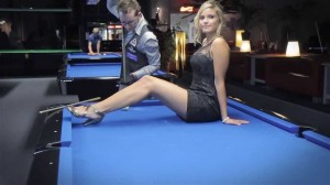 photos Sexy Pool Trick Shots