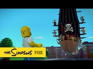 photos Un épisode des Simpsons en Lego